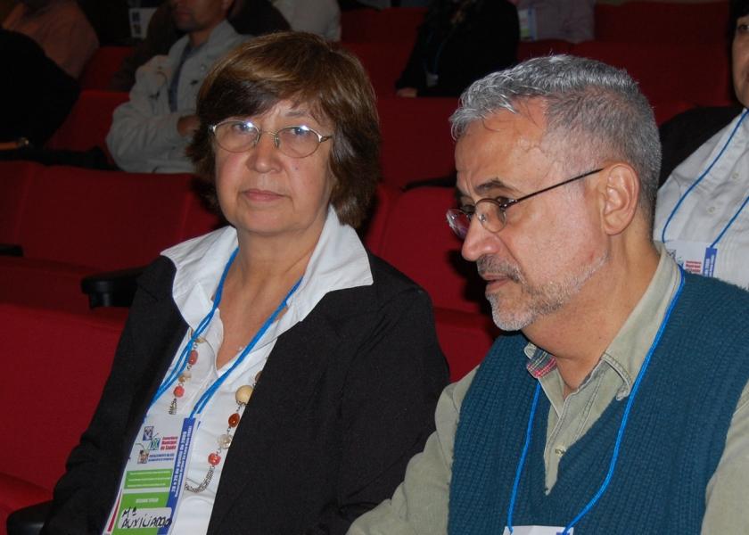 cal e dora conferencia saude 2009 (2)