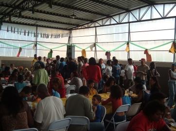 CONFRATERNIZAÇÃO NATAL 2005 ASSISTIDOS SOS VIDA