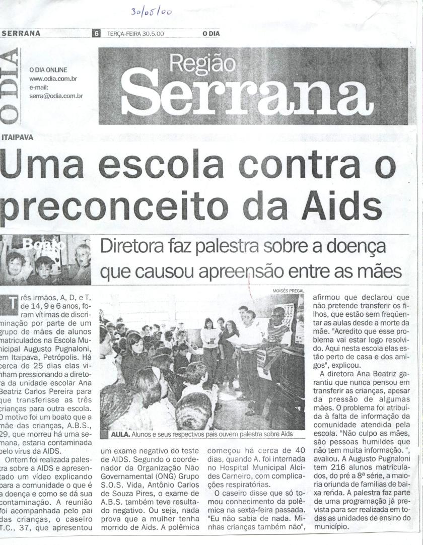 DISCRIMINAÇÃO EM ESCOLA.ITAIPAVA JPG
