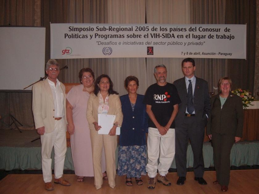 SEMINARIO NO PARAGUAI HIV AIDS NO TRABALHO