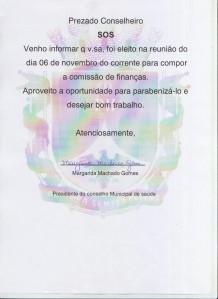 ELEIÇÃO COMSAUDE 001