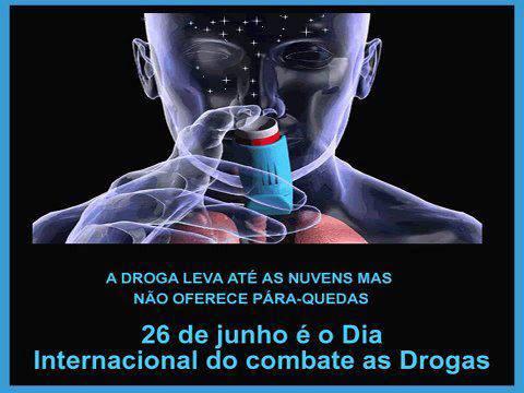 DIA DE COMBATE AS DROGAS