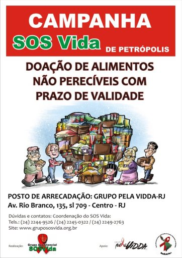 CAMPANHA PELA VIDDA RIO