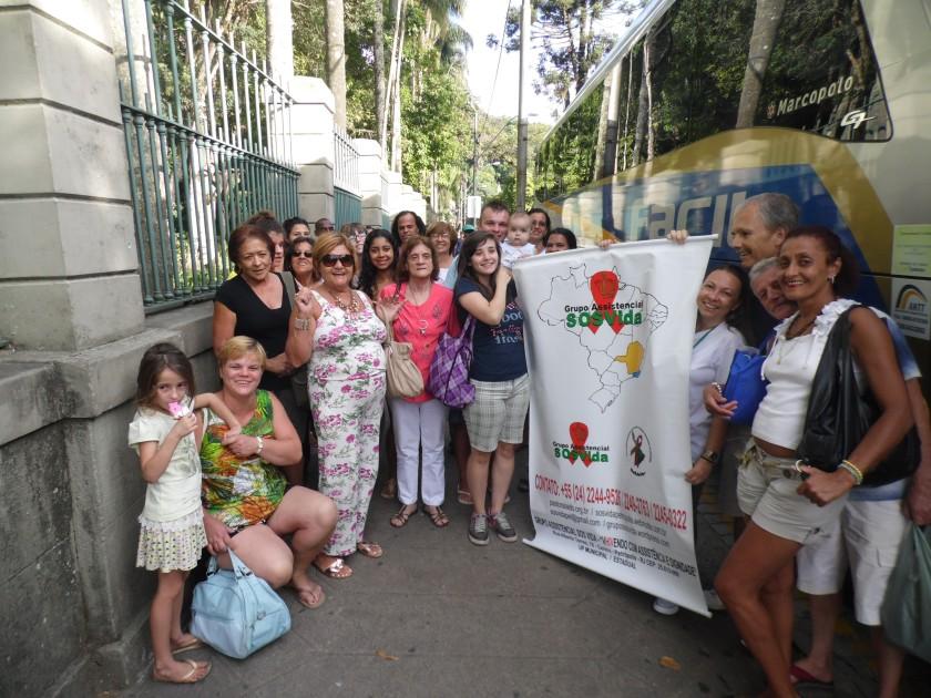 PASSEIO RIO SESC 03 14 SAIDA PETROPOLIS